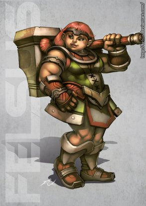 dwarf_female_by_felsus-d3so2b3