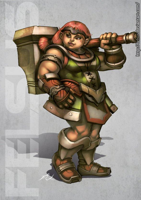 dwarf_female_by_felsus-d3so2b3