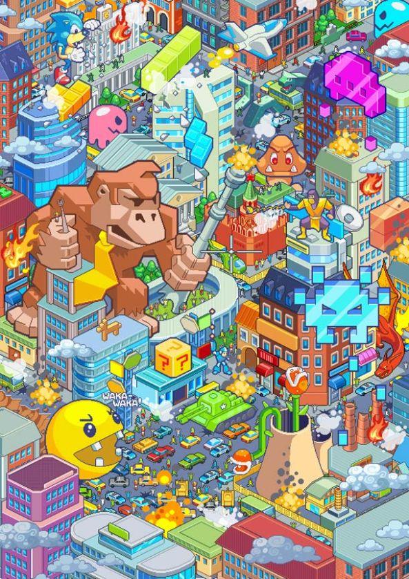 Game-over-earthlings-pixel-art