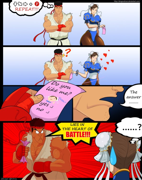 ryu_x_chun_li__heart_of_battle_by_dmgoodrum-d5w8kf2