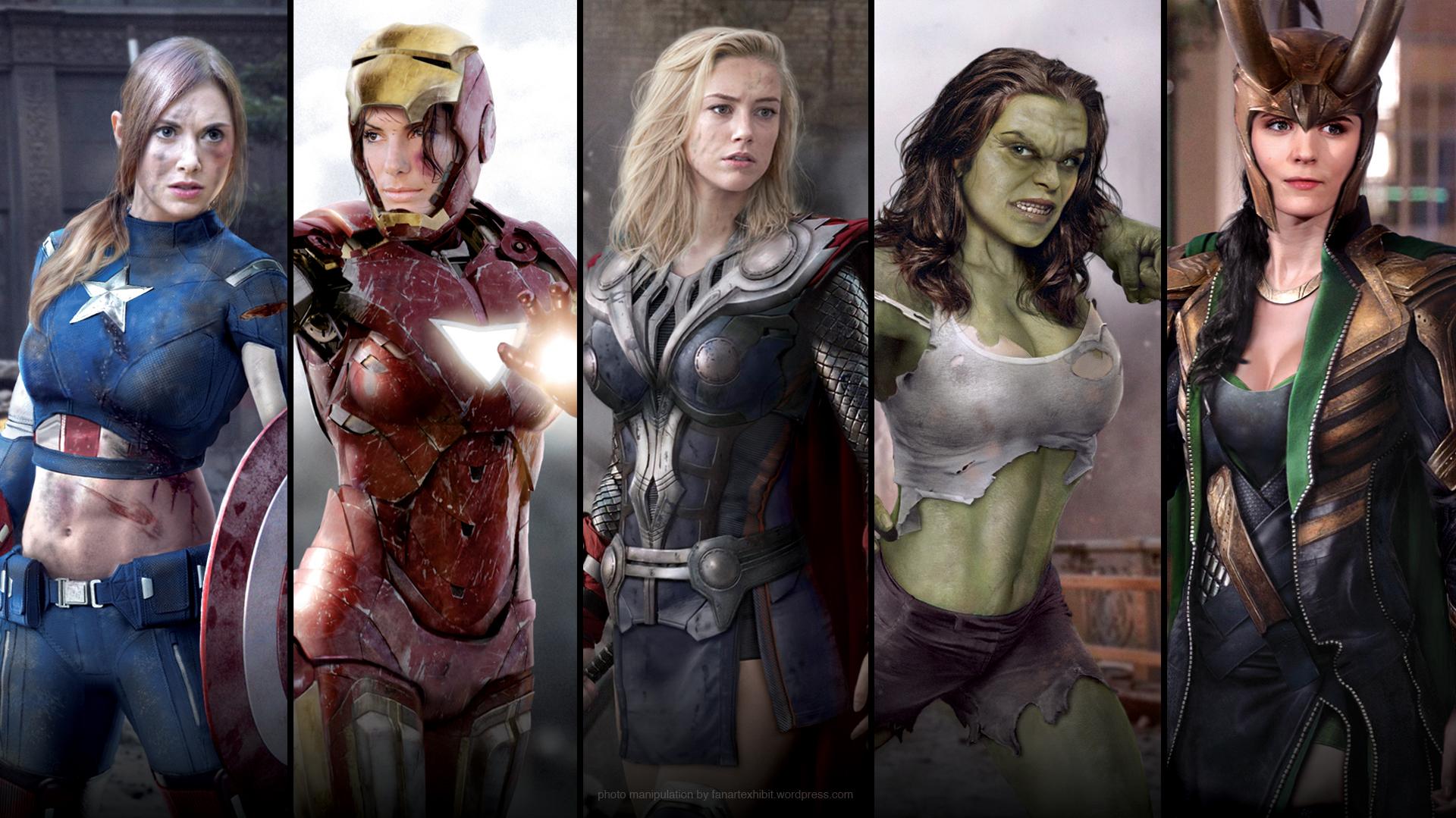 Female Avengers   The adventures of Obi-Rus Kenobi  Female Avengers...