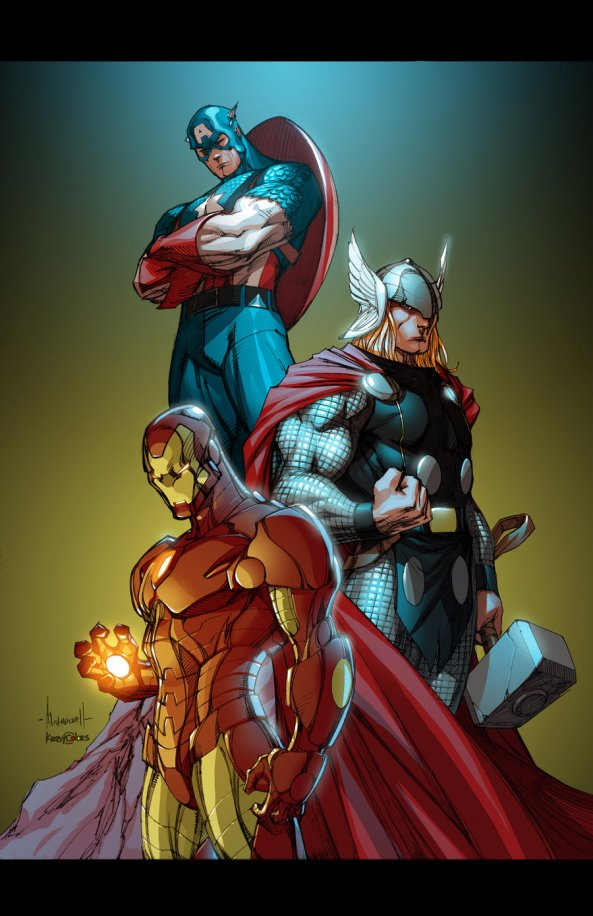 marvel_guys_by_alegarza-d4c5gv6