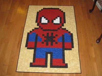 spiderman_lap_quilt_by_tnitnetny-d4w9zpt