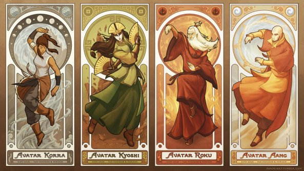 art_nouveau_avatars___the_four_seasons_by_swadeart-d6epvgh