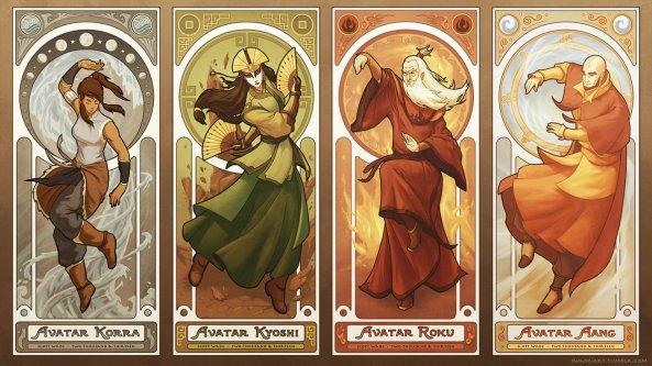 art_nouveau_avatars___the_four_seasons_by_swadeart-d6epvgh