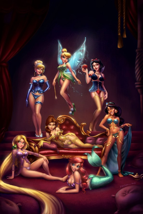 disney_girls_pinup_by_kimisz-d5zgyz4
