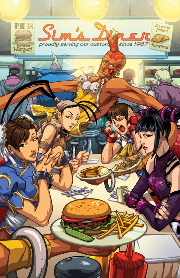 street_fighter_25th_anniversary_diner_by_edwinhuang-d5cutke