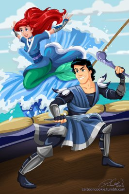 prince_eric_and_ariel_of_the_water_tribe_by_racookie3-d6ik485